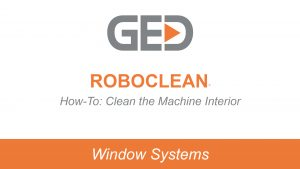 RoboClean how to clean the machine interior video thumbnail
